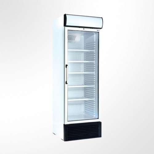 Exhibidora Ugur ufr440gdl 440 litros para congelados con cenefa baja - 0
