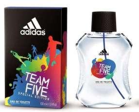 ADIDAS Team 5 edt 100ml- EDT para caballeros