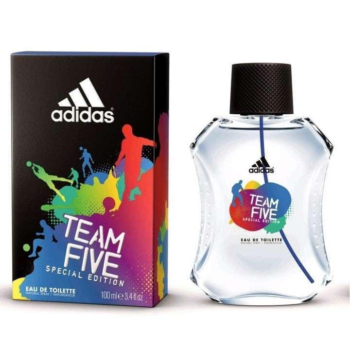 ADIDAS Team 5 edt 100ml- EDT para caballeros - 0