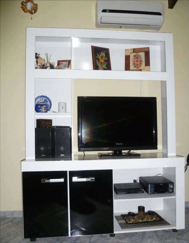 Modular para tv y libros - 0