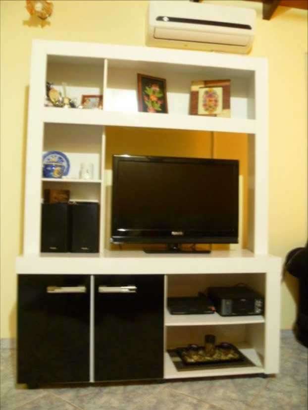 Modular para tv y libros - 1