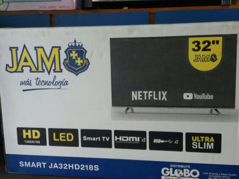 Tv smart full HD de 32 pulgadas jam - 0