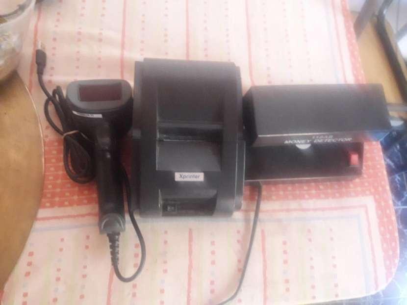 Impresora de ticket con lector de barra y cámaras de seguridad hit visión - 0