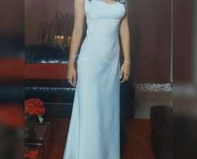 Vestido blanco de colación, novia o quinceañera