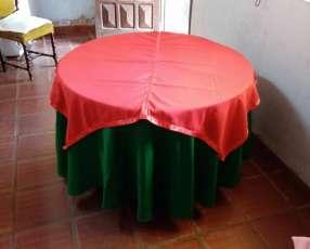 Mantel navideño 2X1