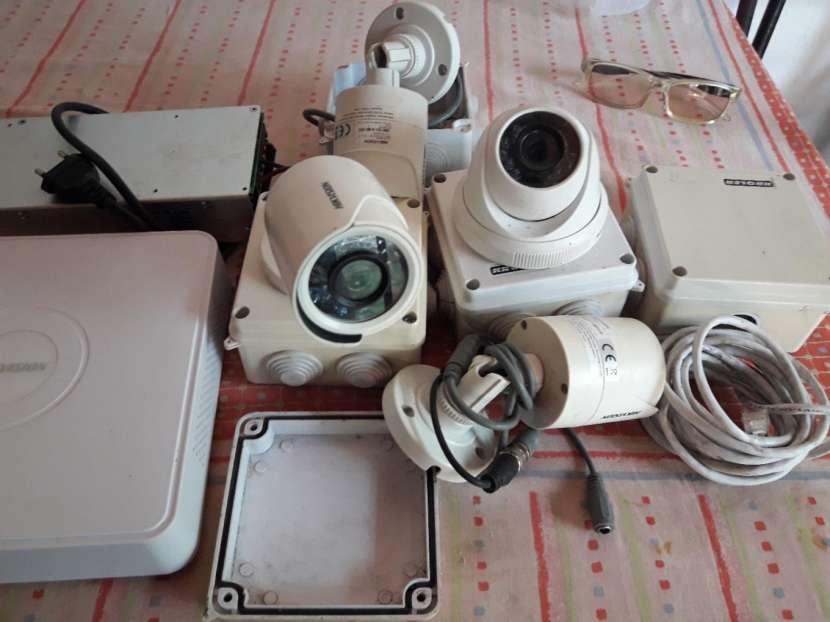 Impresora de ticket con lector de barra y cámaras de seguridad hit visión - 1