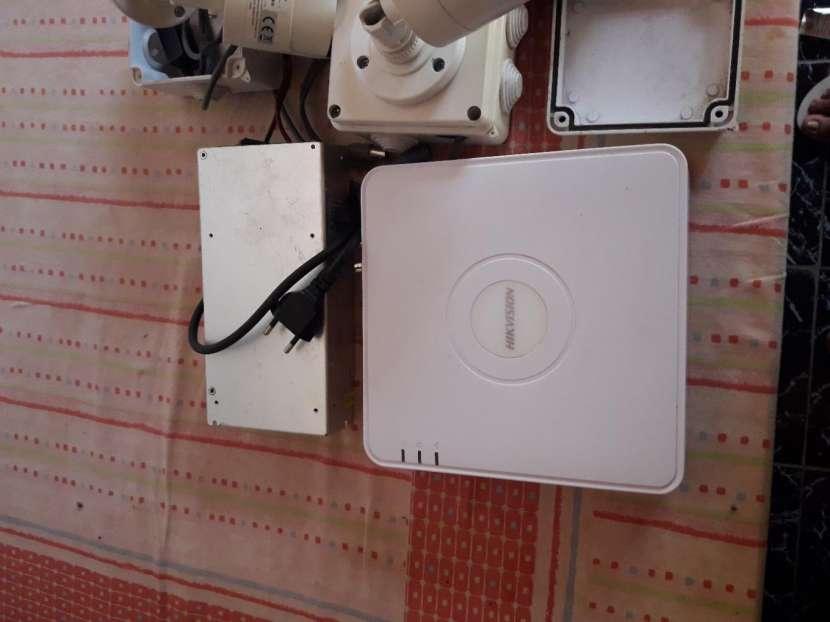 Impresora de ticket con lector de barra y cámaras de seguridad hit visión - 2