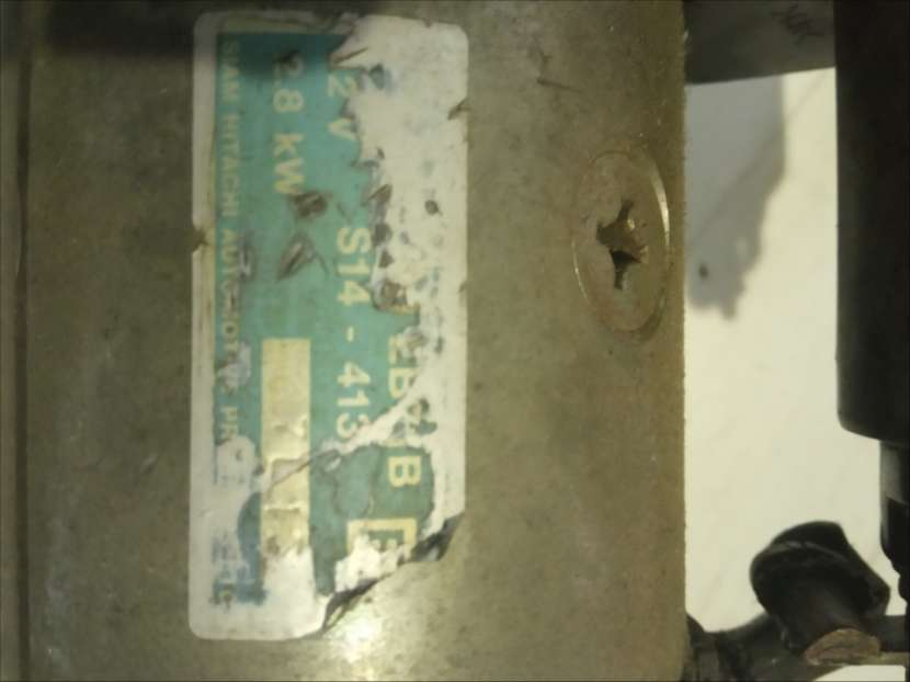 Motor de arranque para susuki sx-4 - 2