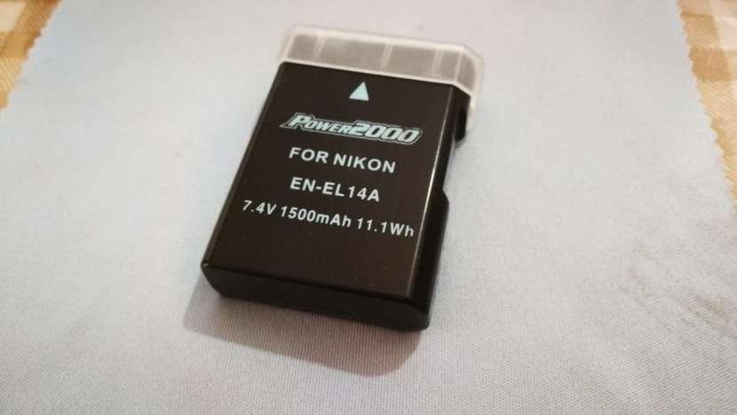 Batería 1500 mAh de repuesto para Nikon EN-EL14 - 1