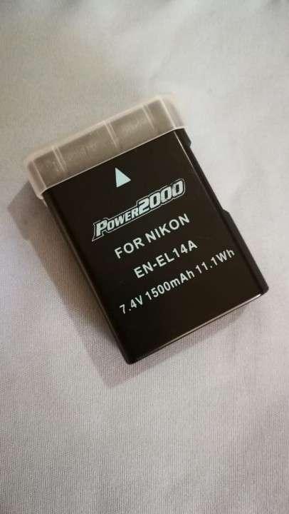 Batería 1500 mAh de repuesto para Nikon EN-EL14 - 0