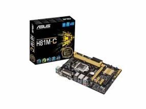 MB ASUS 1150 H81M-C V/S/R/DVI/LPT/DDR3