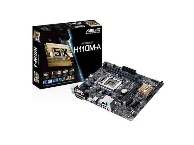 MB ASUS 1151 H110M-A D3 V/S/R/DVI/HDMI/DDR3 - 0