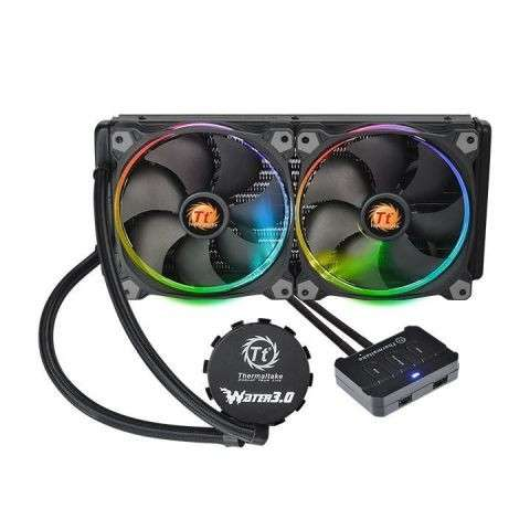 COOLER THERMALTAKE WATER 3.0 RIING RGB 280/ALL-IN - 0