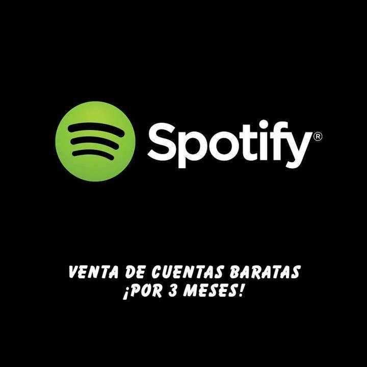 Cuentas de Spotify Premium baratas - 0