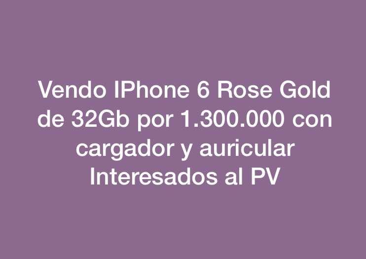 iPhone 6 de 32Gb rosen gold - 0