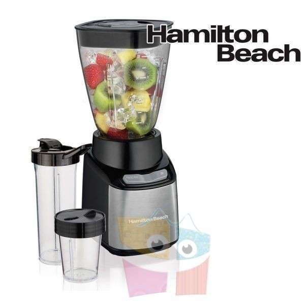 Licuador multiusos Stay or Go jarra de Tritán Hamilton Beach - 0