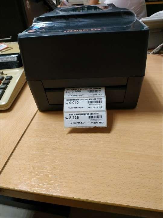 Impresora de etiquetas para flejes y otras funciones - 0