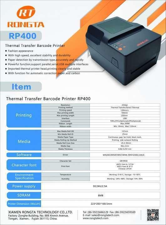 Impresora de etiquetas para flejes y otras funciones - 2