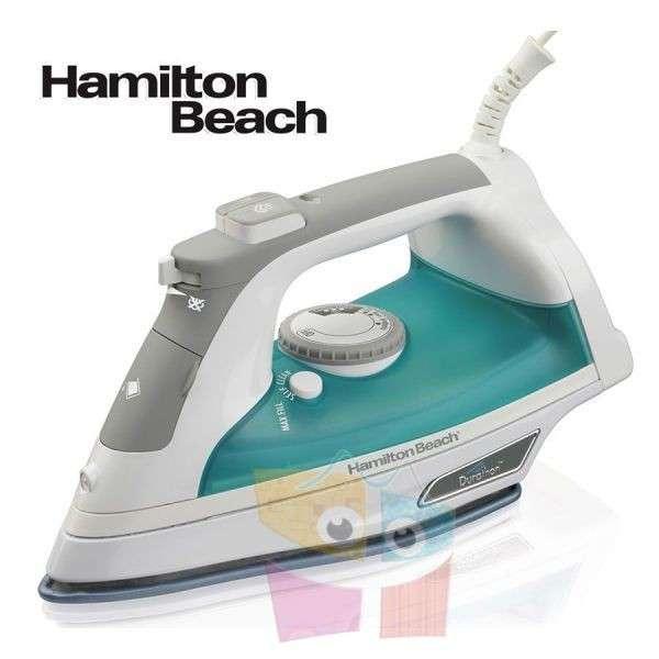 Plancha de vapor con suela antiadherente Hamilton Beach - 0