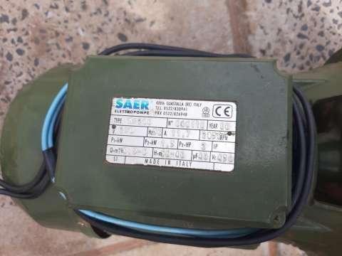 Bomba autoaspirante Saer m200 - 2