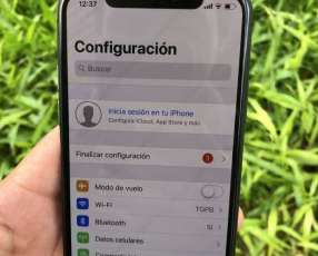 iPhone X de 64 gb libre