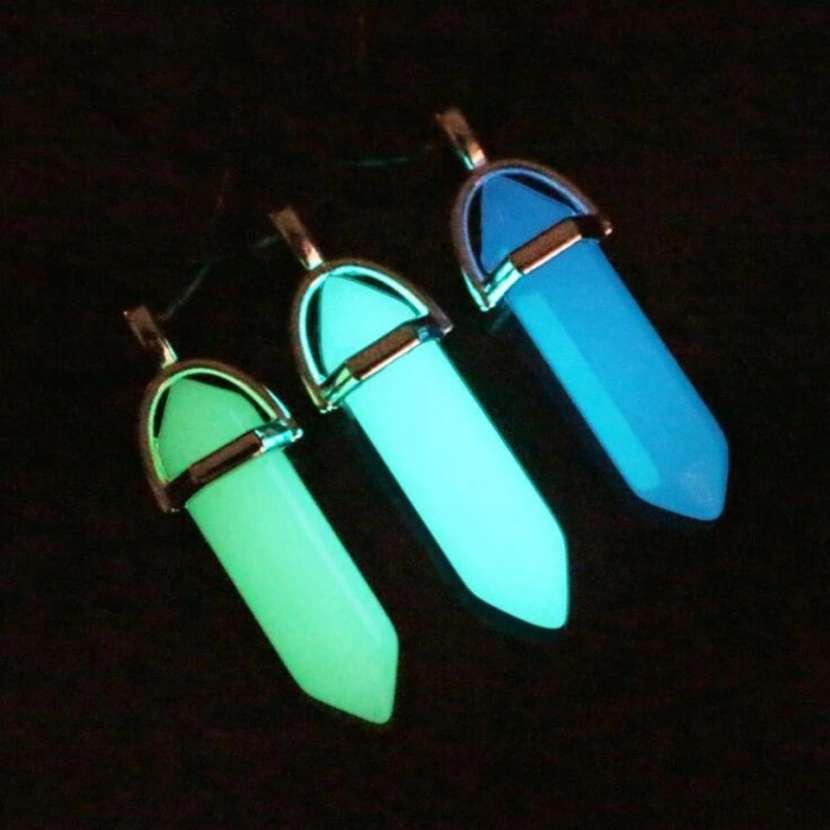 Collar de piedras luminosas en la oscuridad - 0