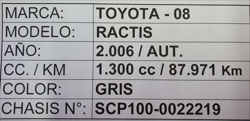Toyota ractis 2006 automático - 8