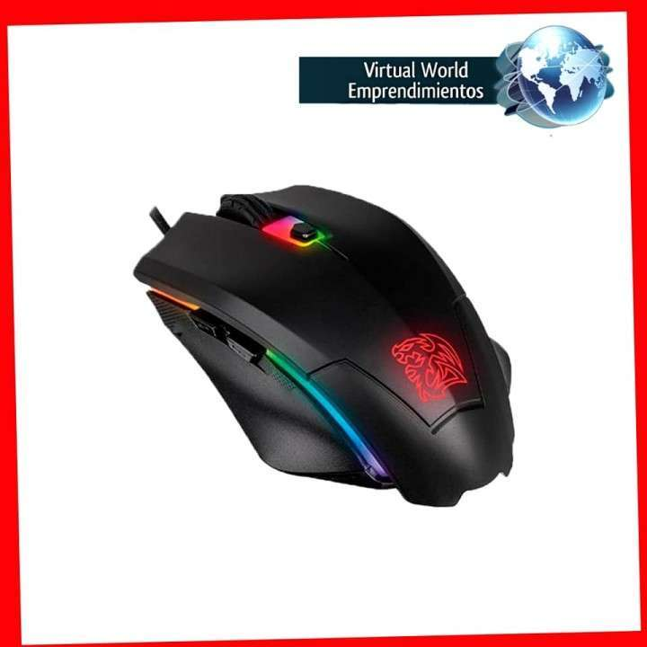 Mouse y mousepad gamer Thermaltake con delivery - 1