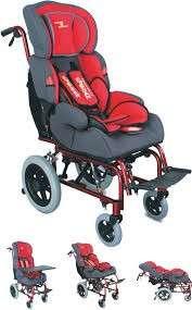 Silla de ruedas postural y baby sit para niños - 0