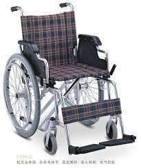 Silla de ruedas escocesa de aluminio