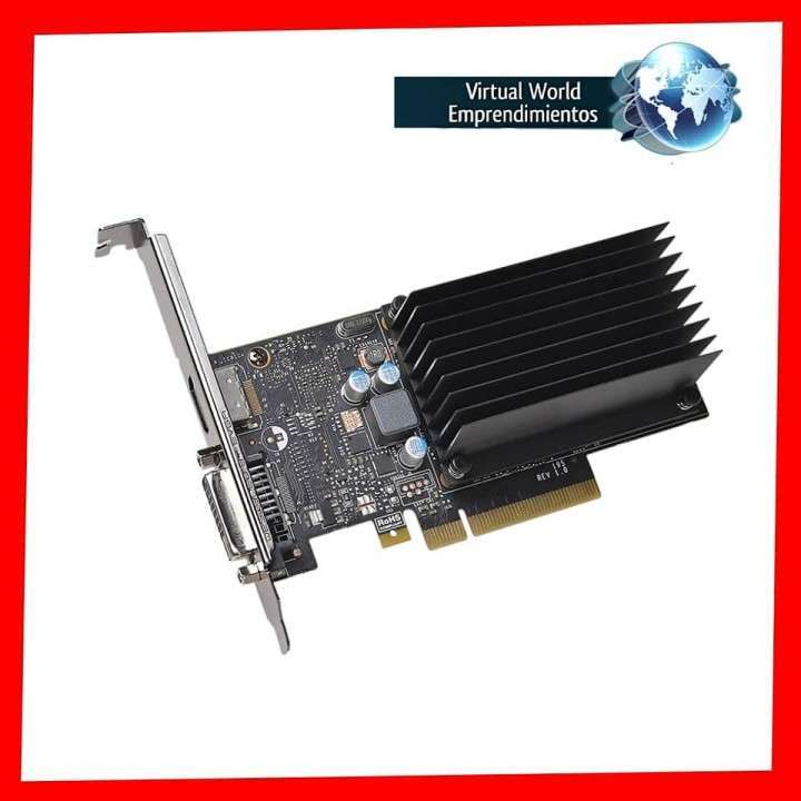 Tarjeta gráfica EVGA GeForce GT1030 DDR4, 02G-P4-6232-KR 2gb - 1