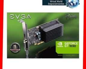 Tarjeta gráfica EVGA GeForce GT1030 DDR4, 02G-P4-6232-KR 2gb