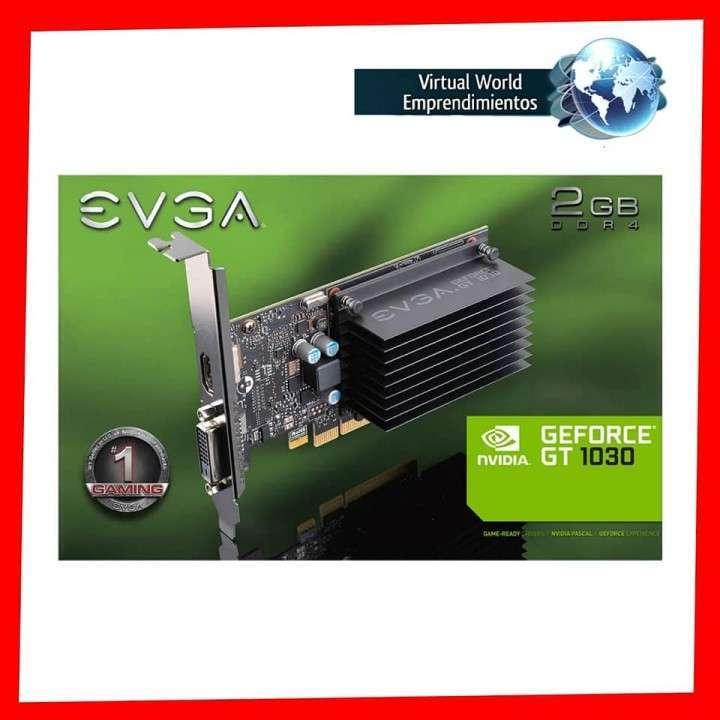 Tarjeta gráfica EVGA GeForce GT1030 DDR4, 02G-P4-6232-KR 2gb - 0