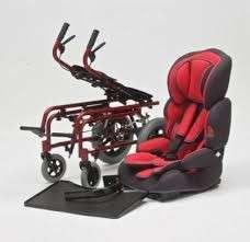 Silla de ruedas postural y baby sit para niños - 1