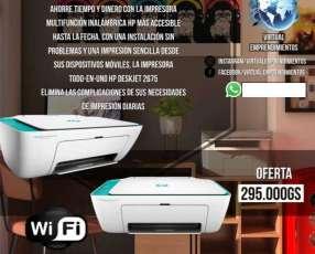 Impresora multifunción HP 2675 wifi con delivery
