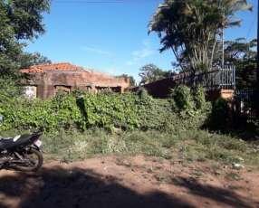Terreno con casa en m.r.a zona super el pueblo