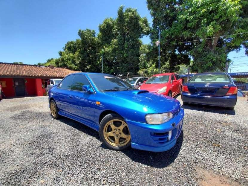 Subaru impresa wrx.titulo de tokio volante original1996 - 1