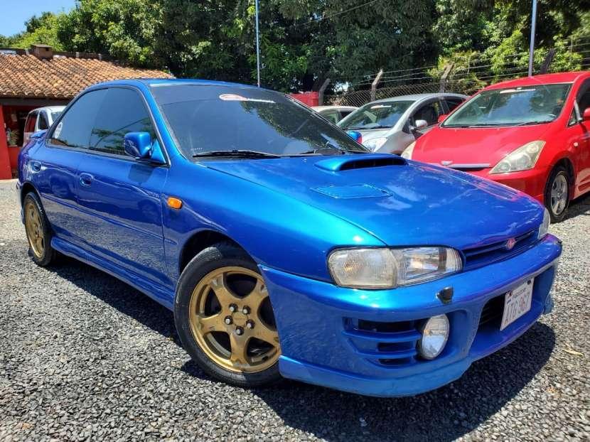 Subaru impresa wrx.titulo de tokio volante original1996 - 2