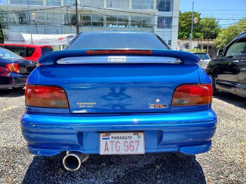 Subaru impresa wrx.titulo de tokio volante original1996 - 6