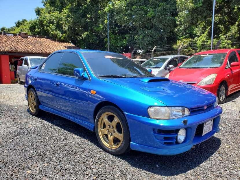 Subaru impresa wrx.titulo de tokio volante original1996 - 7
