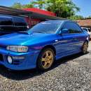 Subaru impresa wrx.titulo de tokio volante original1996 - 8