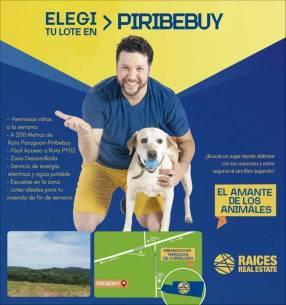 Terreno en Piribebuy