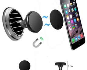 Soporte magnético de celular para vehiculo