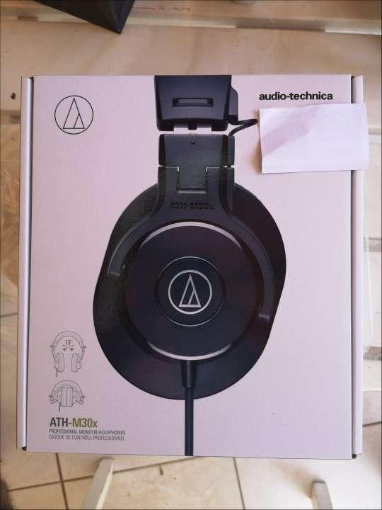 Auricular Audio Technica Ath-M30x nuevo - 0