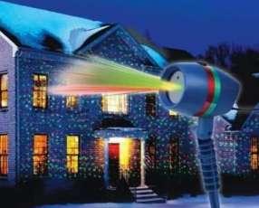 Proyector láser motivo navideño
