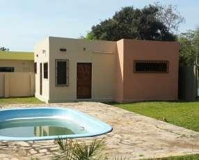 Chalet con piscina zona Rakiura