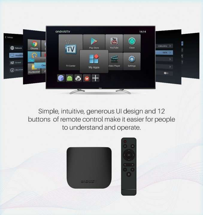 Convertidor smart tv Android Mecool M8S Plus W 2+16 gb - 3