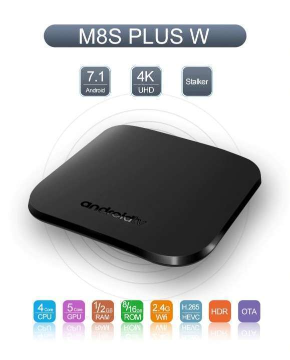 Convertidor smart tv Android Mecool M8S Plus W 2+16 gb - 0