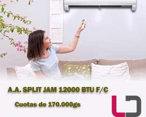 Split Jam 12.000 btu