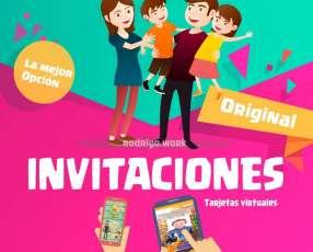 Invitación digital en video
